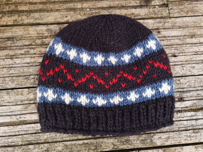 Nordic Woolen Knitted Beanie