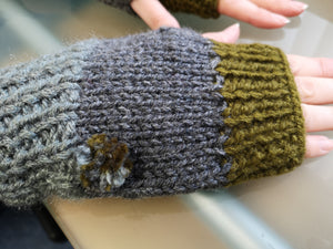 Wrist Warmer Mitts
