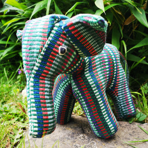 Large Elephant Figurine / Soft Toy