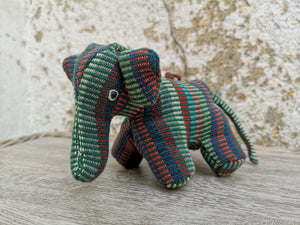 Mini Elephant Figurine / Soft Toy