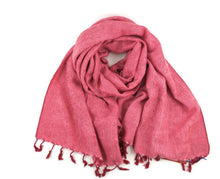 "Load image into Gallery viewer, SUPER SOFT AND COSY ""YAK"" SHAWL THE ORIGINAL OVERSIZED BLANKET SCARF"