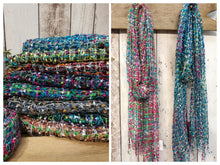Load image into Gallery viewer, Confetti Net Weave Scarf