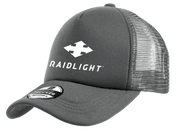 RAIDLIGHT GREY TRUCKER LOGO