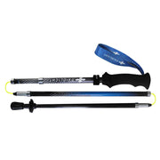 COMPACT CARBON ULTRA EVO TREKKING POLES - BLACK