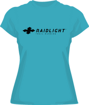 RAIDLIGHT TECHNICAL T-SHIRT - LADIES - TURQUOISE