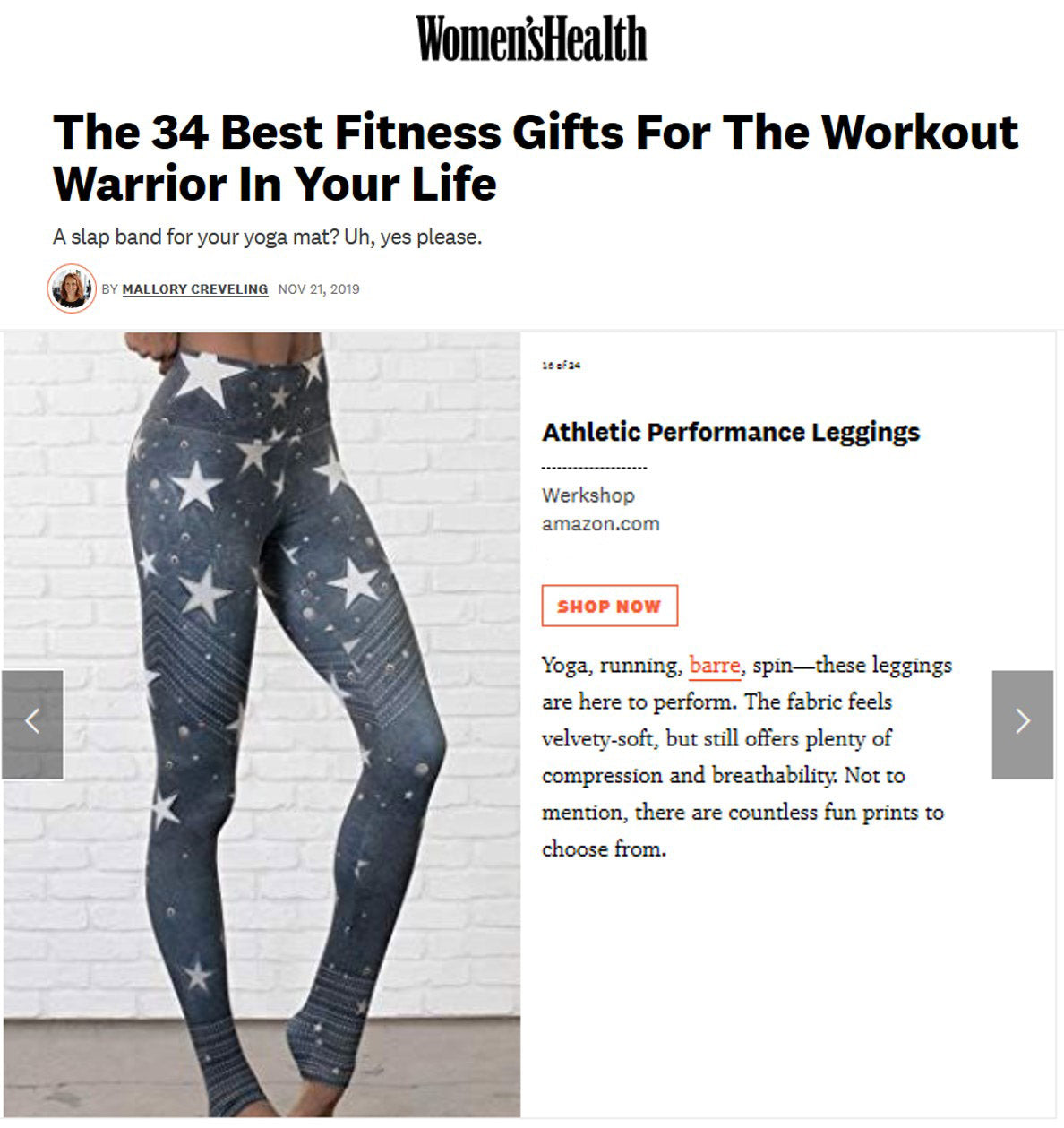 Best fitness gifts for the workout warrior in your life: featuring WERKSHOP Leatherwerk Stars