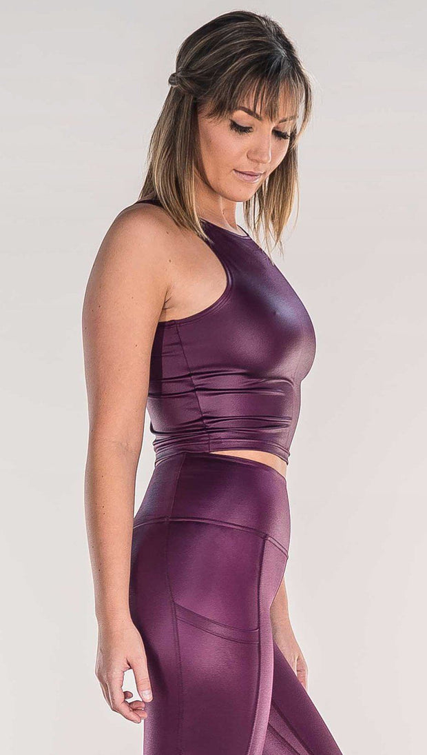 Eggplant - Luster Top