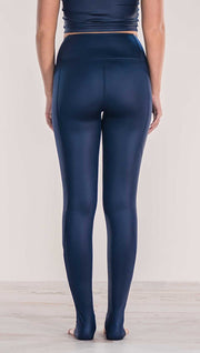 Midnight - Full Length Luster Leggings