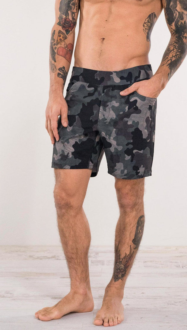 "Men's - Classic Camo Shorts 7"" Inseam"
