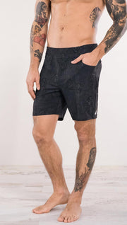 "Men's - Skull Shorts 7"" Inseam"