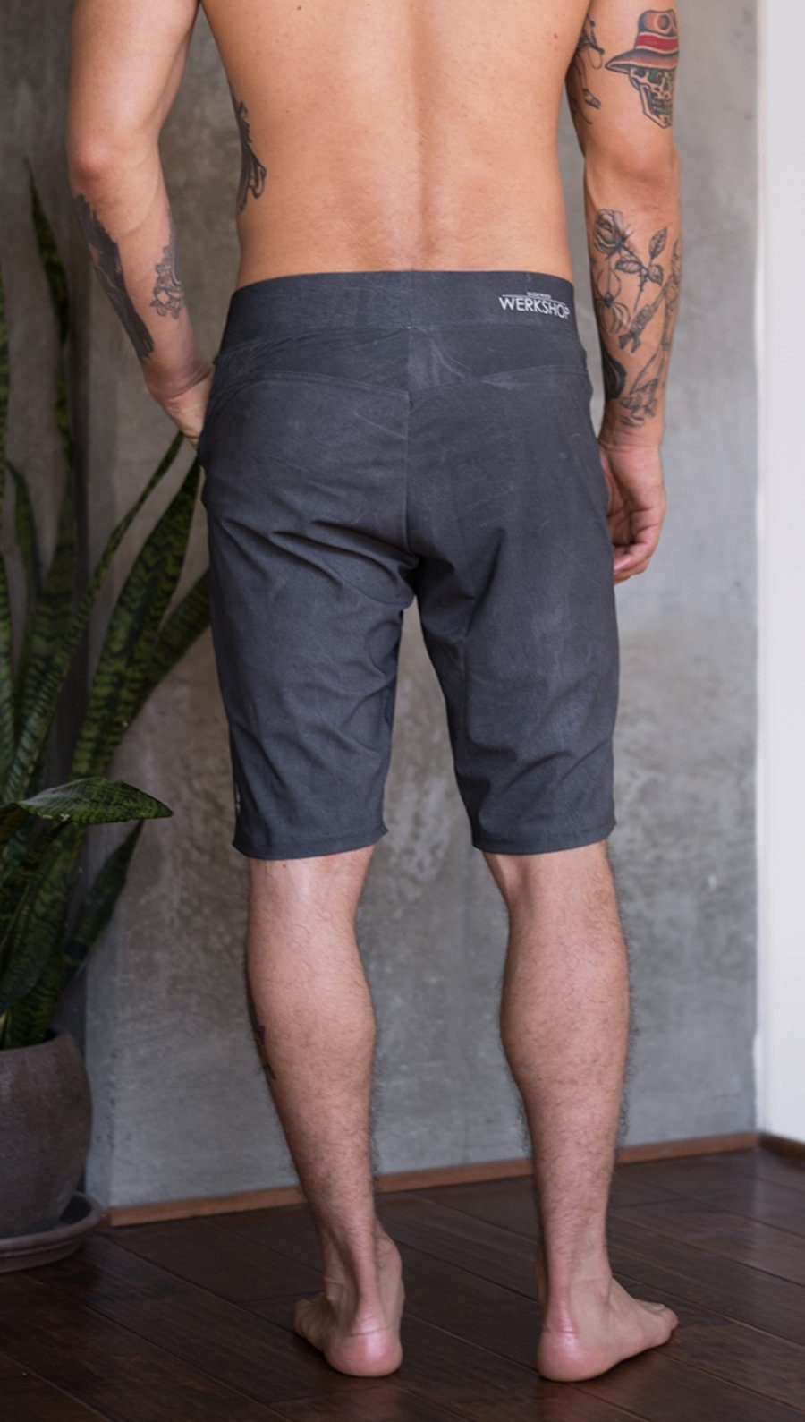 Men's - Gray Shorts