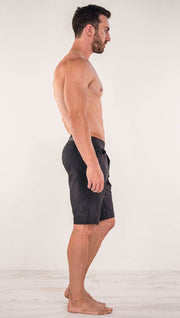 "Men's - Black Shorts 10.5"" Inseam"
