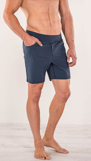 "Men's - Blue Shorts 7"" Inseam"