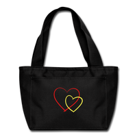 Heart - Lunch Box - black