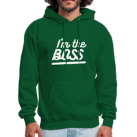 I'm The Boss - forest green