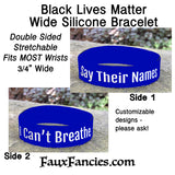 Say Their Names, Silicone Bracelet