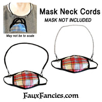 Neck Cord for Face Mask