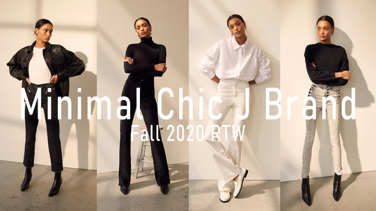 Minimal Chic at J Brand for Fall 2020 RTW
