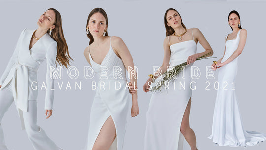 Modern Bride by Galvan Bridal Spring 2021