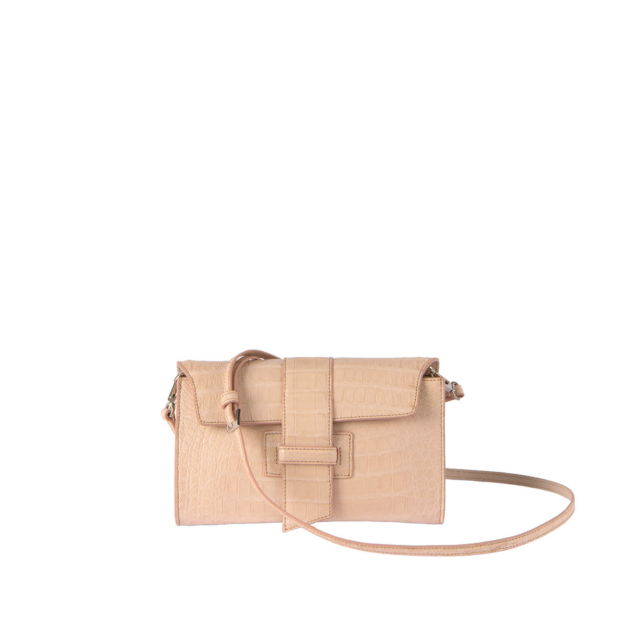 SB Caiman Cross-Clutch in Blush