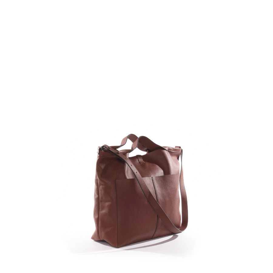 Jo Medium Shopper Tote in Honey