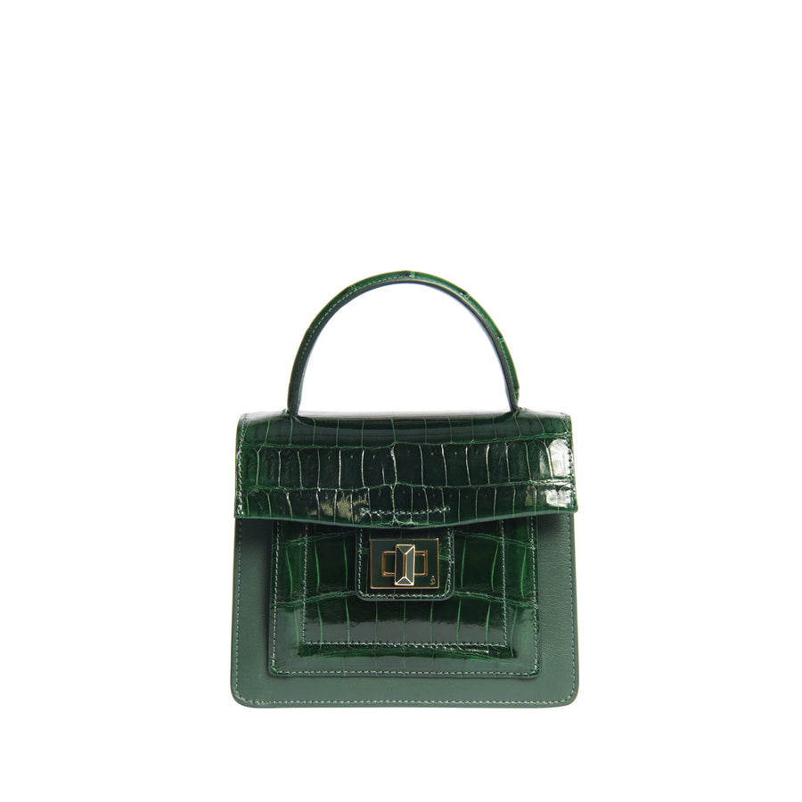 Krenoir Alligator Mini Kandie in Forest Green