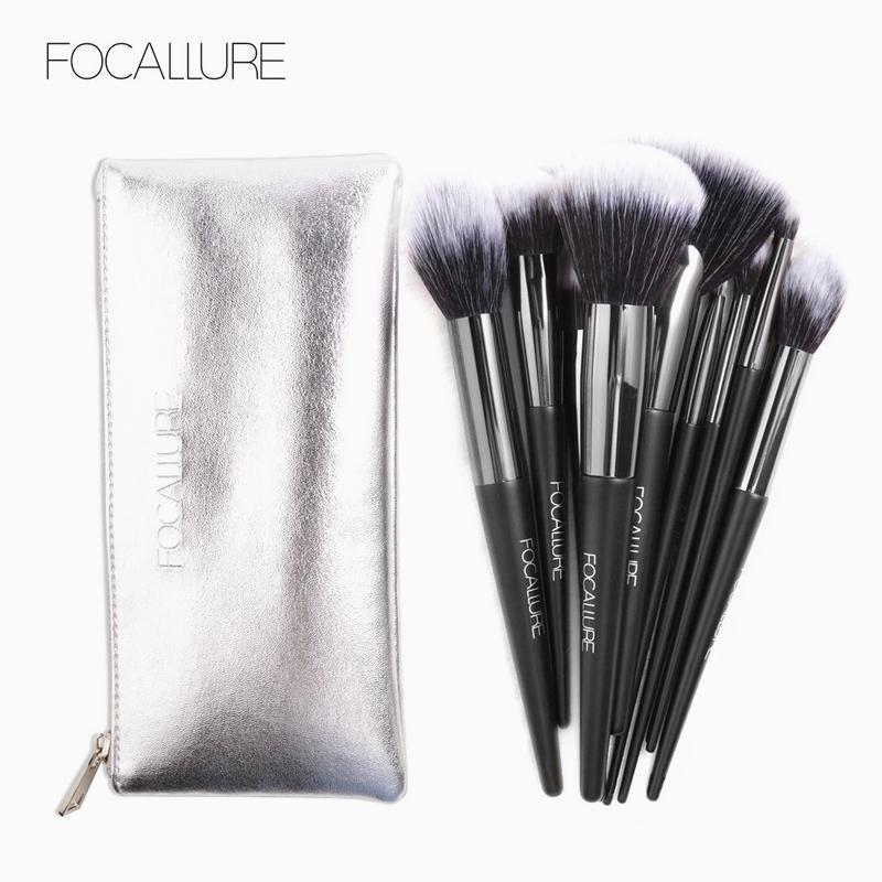 10Pcs/Set Makeup Brushes Kit