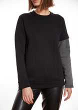 Load image into Gallery viewer, Sweater Sleeve Till Tomorrow/Black and Grey