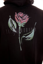 Load image into Gallery viewer, Rose Hoodie Till Tomorrow/Black