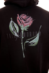 Rose Hoodie Till Tomorrow/Black