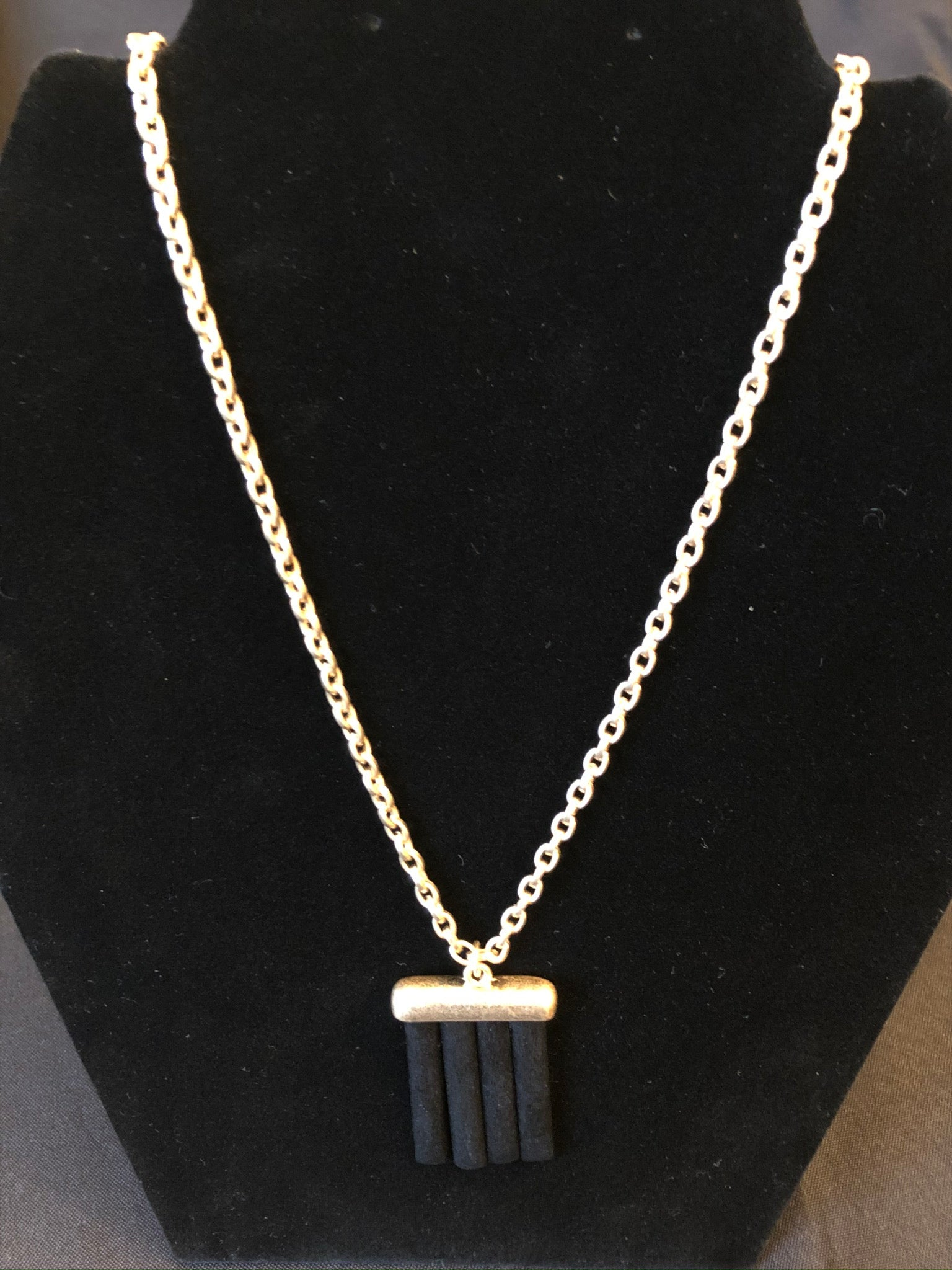 Wood Bar Necklace