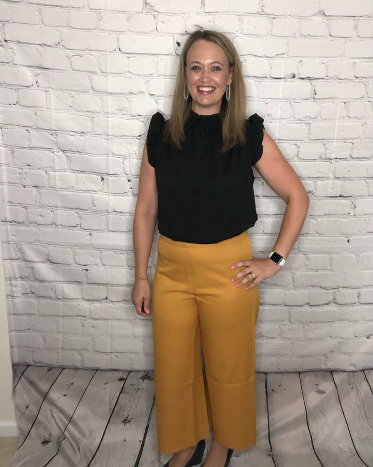 Canary Yellow Culotte Pants