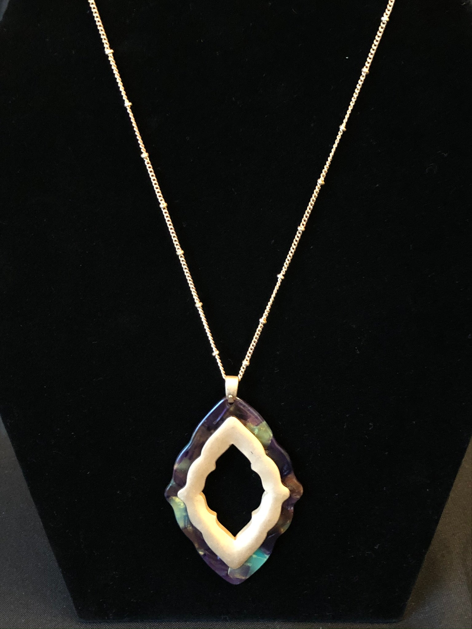 Scallop Quatrefoil Necklace