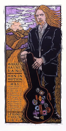 Warren Haynes #07 • Tour 2011