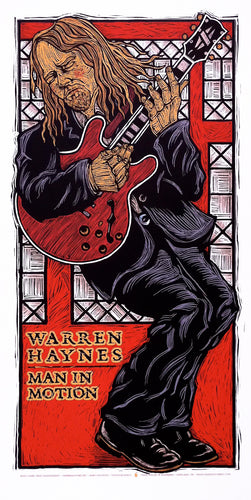 Warren Haynes #06  • Man In Motion