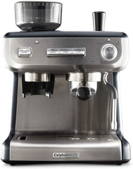 Espresso Machine with Grinder and Steam Wand Stainless