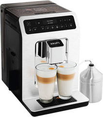 Deluxe One-Touch Espresso and Cappuccino Machine Gray