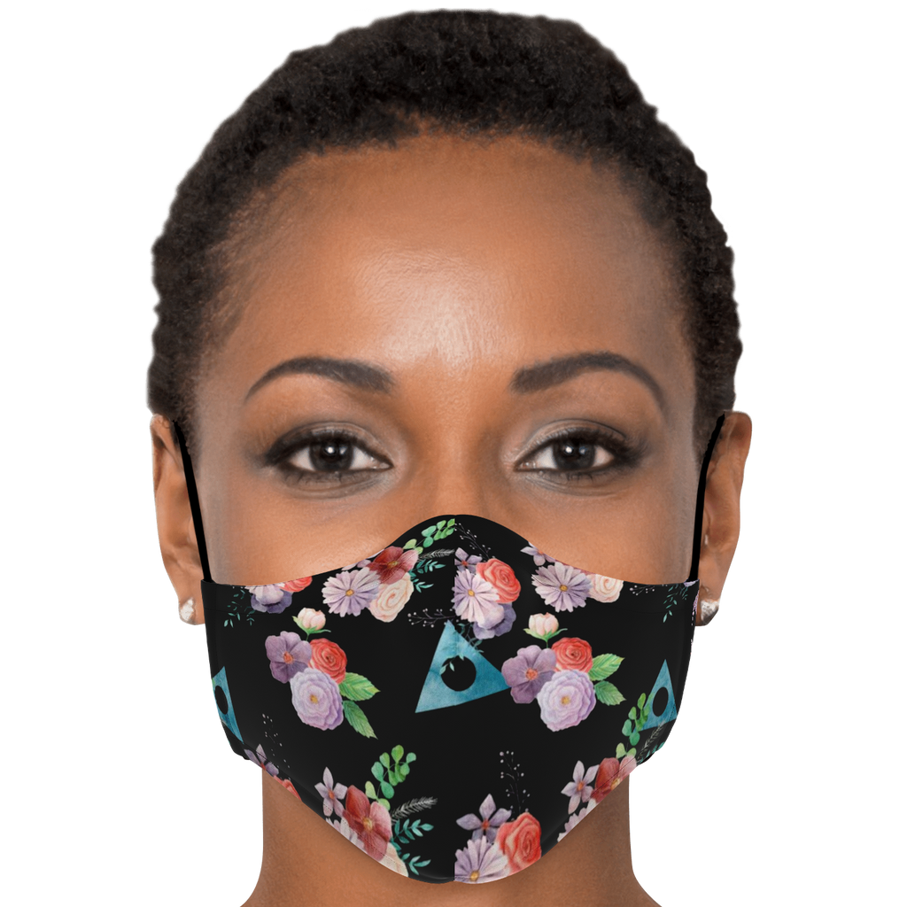Floral Alanon Mask
