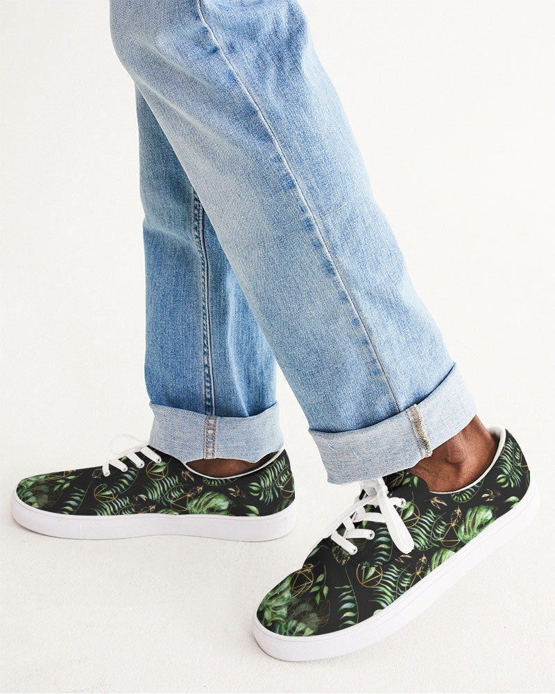 Tropical AA Men's Lace Up Canvas Shoe
