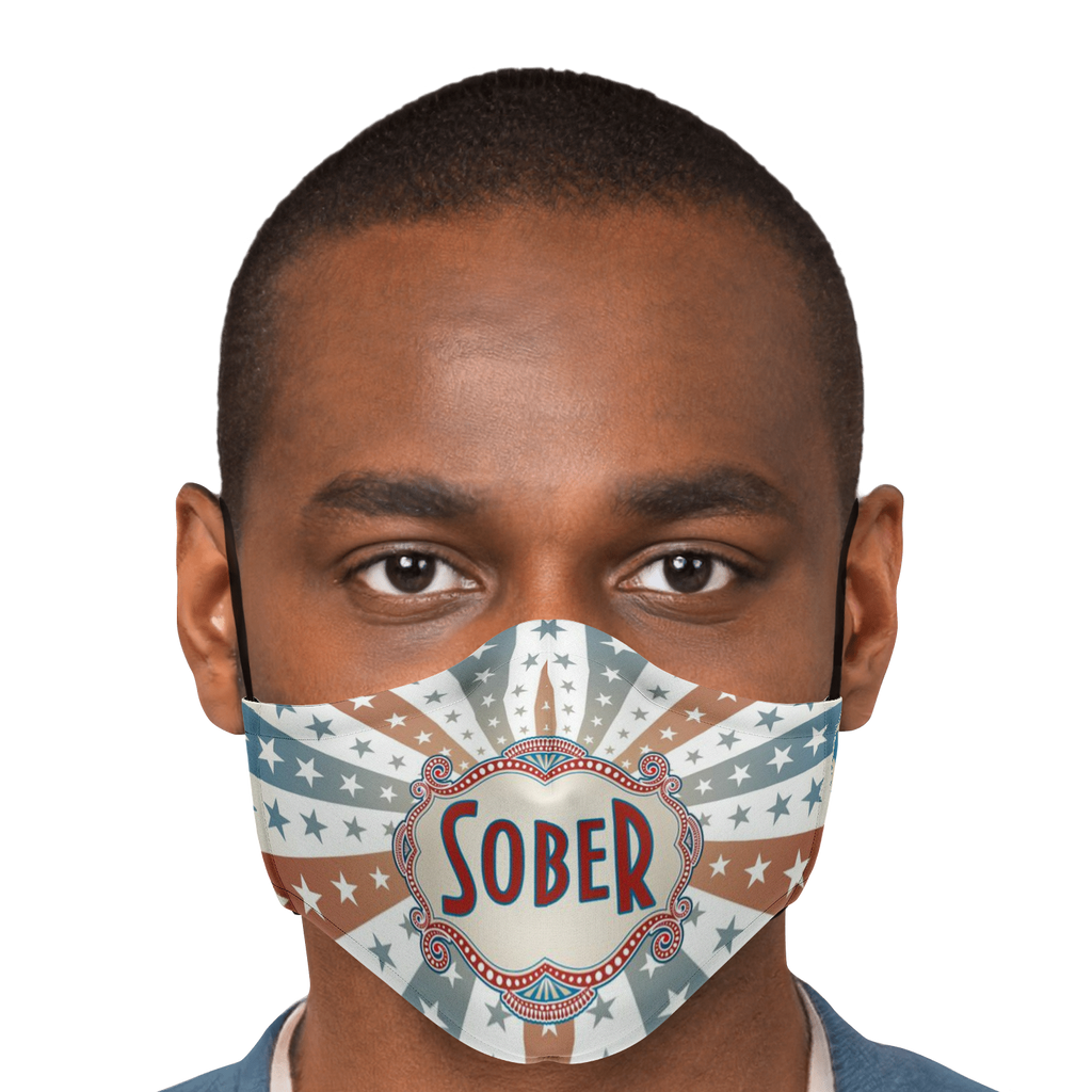 Retro Sober Mask