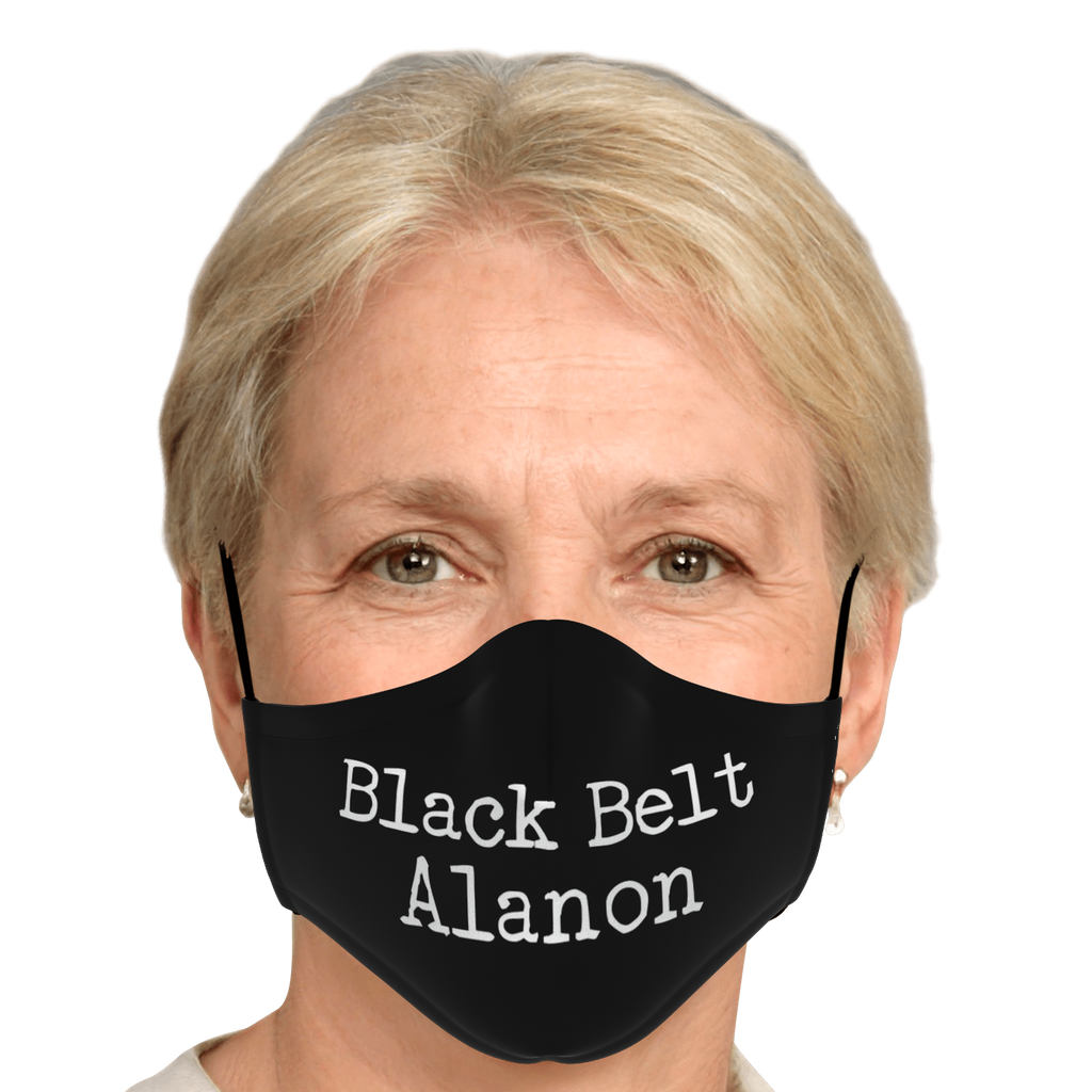 Black Belt Alanon - Mask