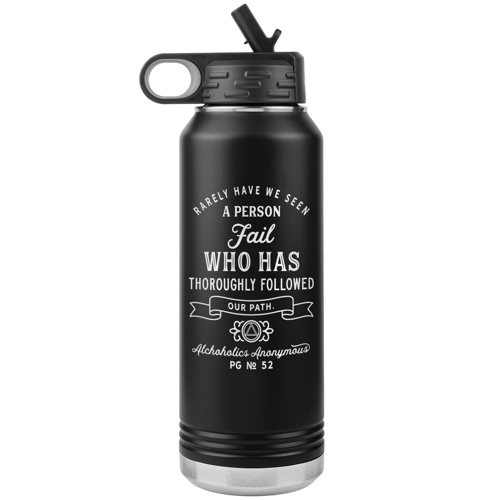 How it Works - 32oz Stainless Steel Water Bottle