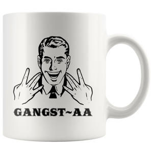 Gangst-AA Alcoholics Anonymous Recovery Mugs
