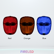 FIRELED Professional Face Mask