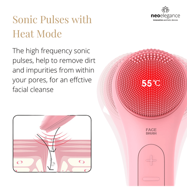 Rainbow Heated Facial Brush