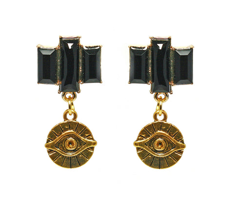 Egyptian Treasure Eye Earrings
