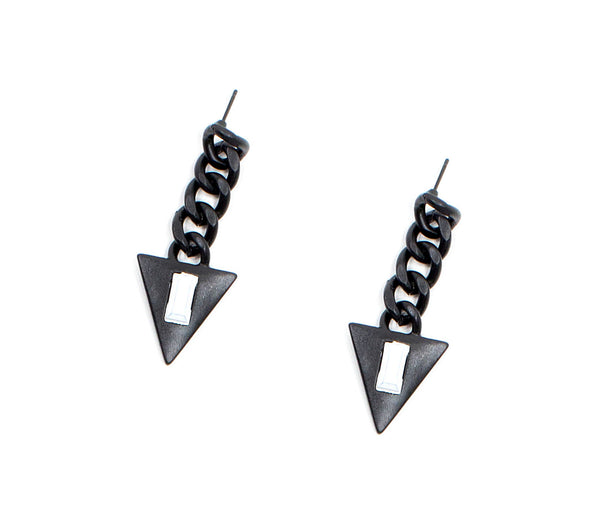 Classic Candy Galactic Triangle Earrings