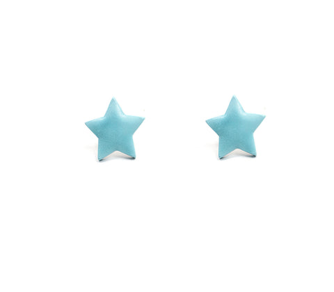 Blue Sorbet Summer Star Studs