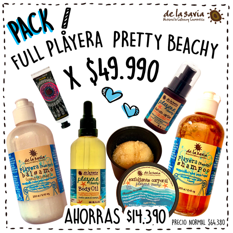 PACK FULL PLAYERA PRETTY BEACHY