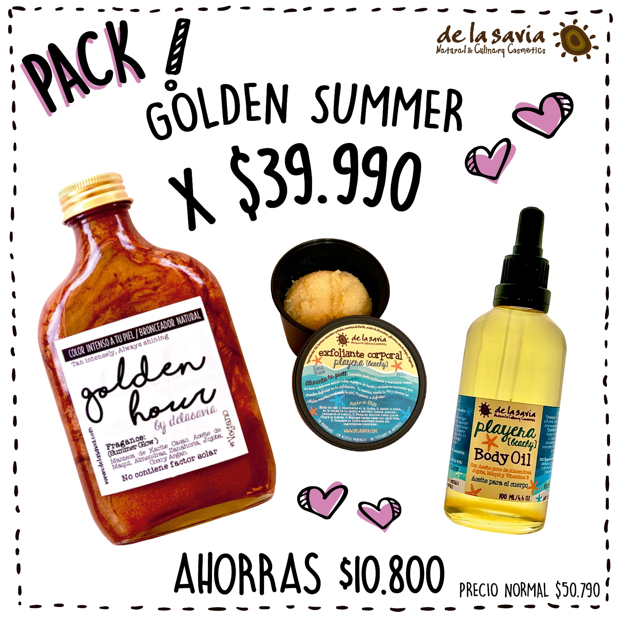 PACK GOLDEN SUMMER